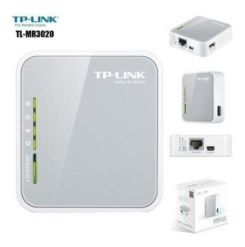 Portable Wireless Router 3g/4g Tp-link Mod Tl-mr3020