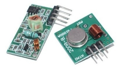 Kit Módulo Rf Transmissor Receptor 433mhz Am Arduino Rx Tx