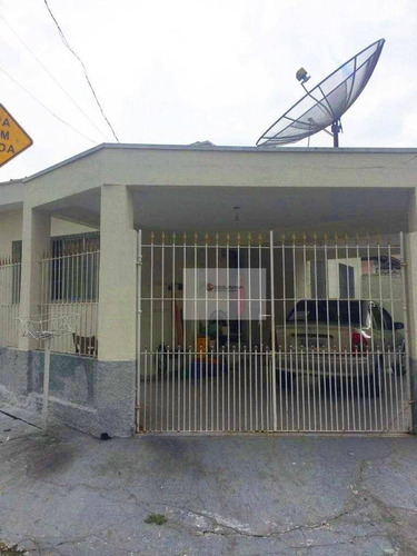 Excelente Casa Térrea Na Santa Clara A 800 Metros Da Estação Oratório - Ca0022
