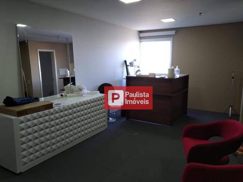 Sala Para Alugar, 64 M² Por R$ 2.400,00/mês - Chácara Santo Antônio (zona Sul) - São Paulo/sp - Sa0183
