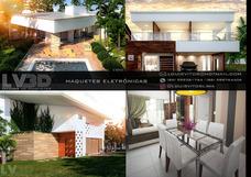Maquete Eletrônica, Imagens 3d De Projetos De Arquitetura