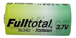 Pila Bateria 16340 Fulltotal Cr123a Recargable - Factura A/b
