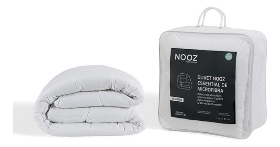 Nooz Edredón - Duvet Essential Microfibra Verano, Individual