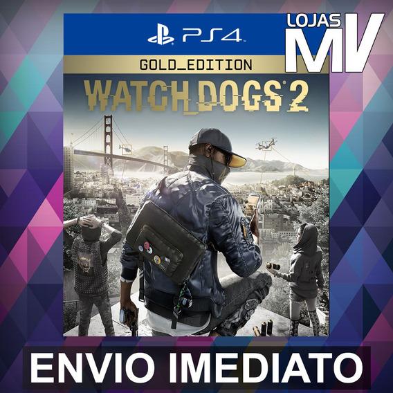 Watch Dogs 2 Gold - Ps4 Playstation 4 Código 12 Dígitos