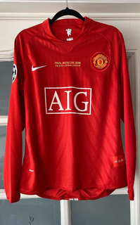 Manchester United Final Jersey Champions League Manga Larga