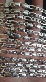 Cordão Masculino Pratas 925 6mm 70centimetros