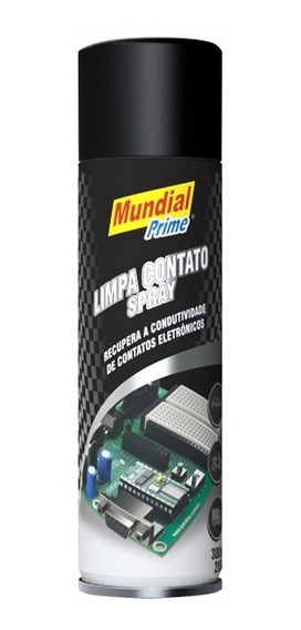 Limpa Contato Spray 300ml Mundial Prime Frete Gratis