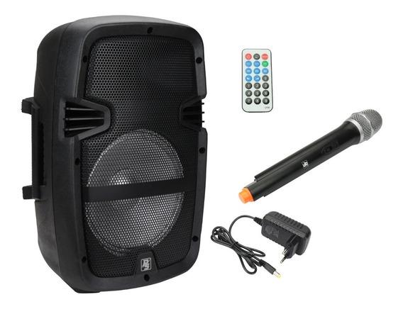 Caixa Multiuso C/ Microfone Sem Fio Bateria Bluetooth Ps8000