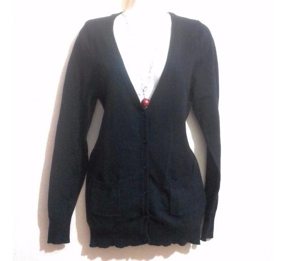 Limpia De Closet Suéter Negro Cuello V Hindú,hippie,étnico