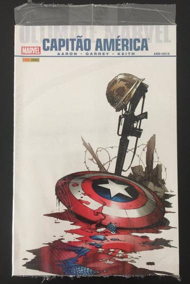 Hq Ultimate Marvel Capitão América 2012 Panini - Lacrado!!!