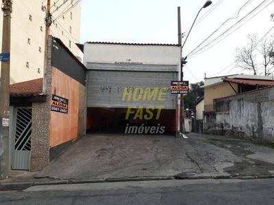 Galpão Para Alugar, 272 M² Por R$ 4.000,00/mês - Vila Augusta - Guarulhos/sp - Ga0258