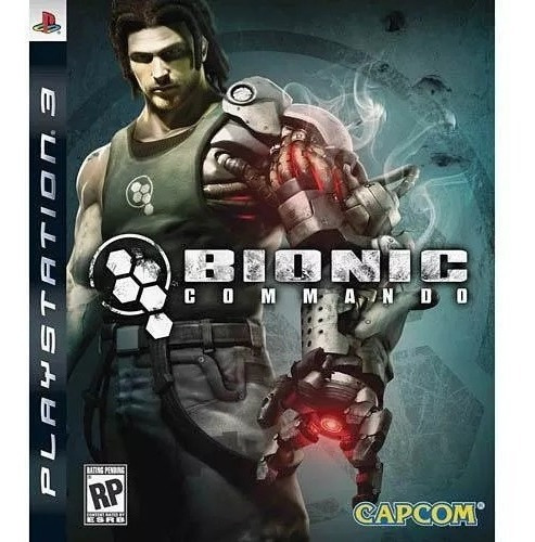 Bionic Commando Ps3 Mídia Física E Lacrado
