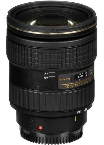 Lente Tokina At-x 24-70mm F2.8 Pro Fx Para Nikon