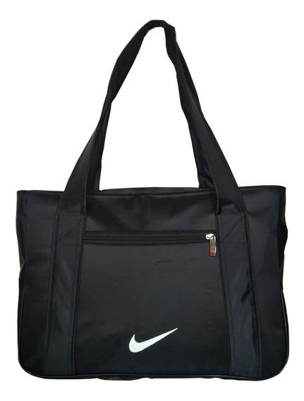 Bolsa Nike Feminina Academia,fitness,multiuso,super Acabamento, Impermeável E Bolso Frontal +frete Grátis Envio Imediato
