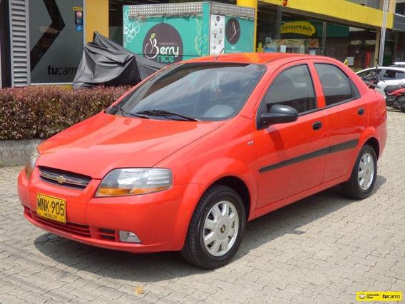 Chevrolet Aveo Sedan Mt 1.6