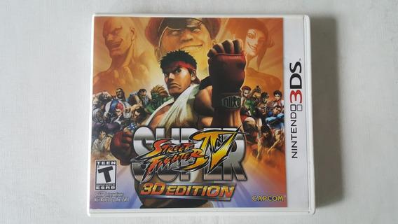 Super Street Fighter 4 3d Edition - Nintendo 3ds - Original