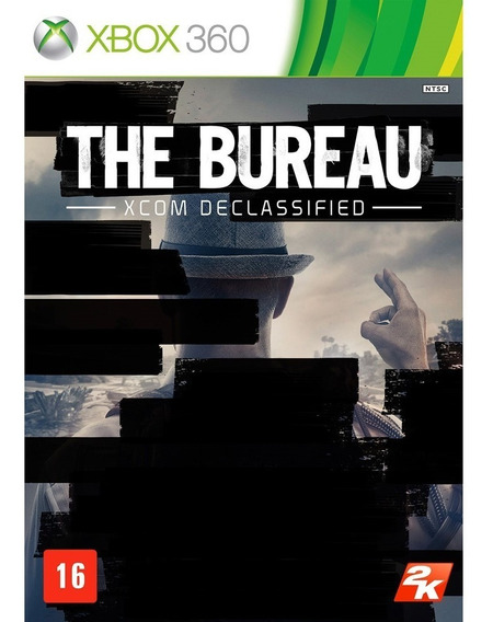 Game The Bureau - Xcom Declassified -xbox 360 (mídia Física)
