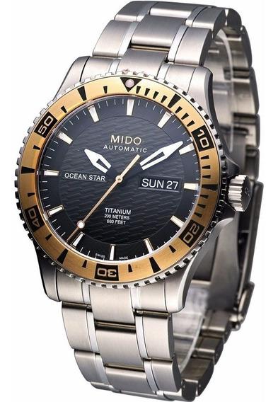 Reloj Mido M0114305406102 Para Caballero Ext De Acero