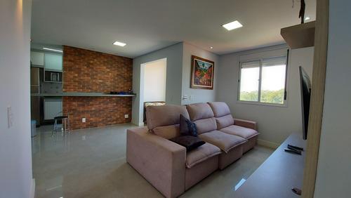 Imagem 1 de 11 de Apartamento 2 Dormitórios, 1 Suíte, 2 Vagas E Lazer Completo