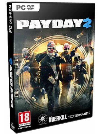 Payday 2 Ultimate Edition Pc Dvd - Mídia Física Frete 8 R$