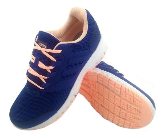 Zapatillas adidas Galaxy 4 K Azul Rosa 75654 Full Eezap