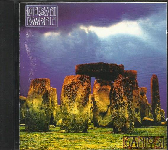 Cd Geisan Varne 1994 Gantois Latin Folk Jazz