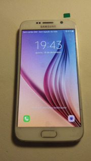 Celular Samsung S6 Duos 32gb G920f Perfeito Leiam Anuncio