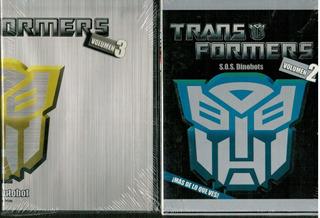 Dvd Transformer Serie Animada Vol 2 & 3