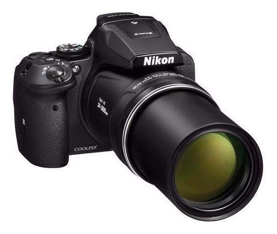Nikon P900 83x Vr, 16.mp Gps Wifi Bag Bat Charger 64gb
