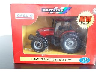 Miniatura Trator Agrícola Case Ih Mxu 125 - Escala 1/32