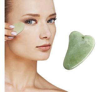 1 Gua Sha Piedra Facial Jade Masaje Facial Anti Arrugas Rejuvenece Tonific