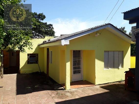 Casa Com Pintura Nova Para Alugar - Ca0649