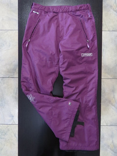 Pantalón Impermeable Termico Nieve Niño Niña Spyder Talla 20