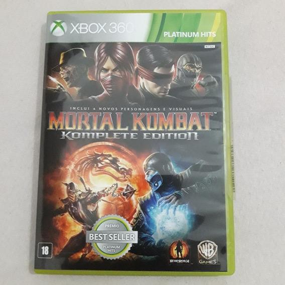 Mortal Kombat Complete Edition Xbox 360 (usado)