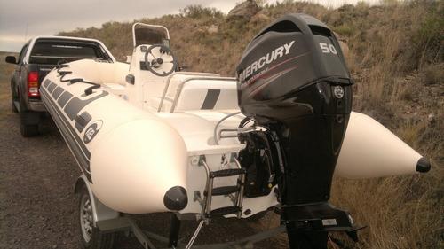 Kiel 4,6 M Con Mercury 50 Hp 4 Tiempos Todo Okm Sin Uso