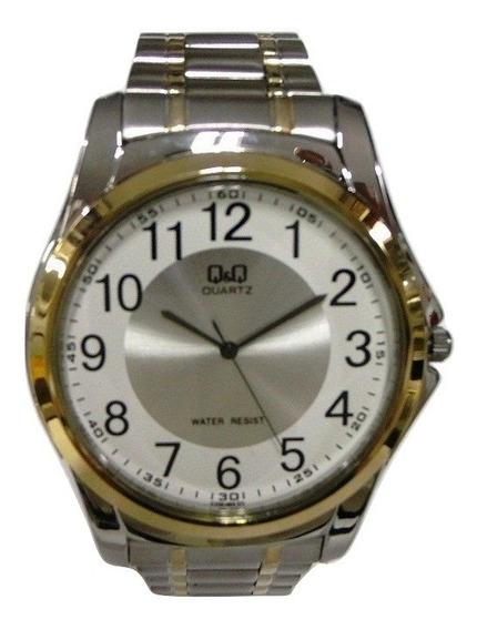 Relógio Q & Q Masculino Caixa E Puls. Mista Grande Q206j404y