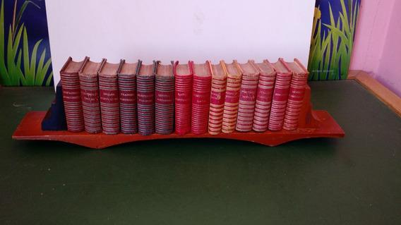 Coleção Mini Livros Antigos 14 Dicionários Editora Spiker 59