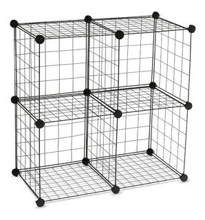 Cubos De Almacenamiento - Wire Storage Cubes - 4 Cubos