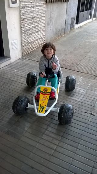 Karting Para Niños Hasta 1 Metro De Altura. Excelente Estado