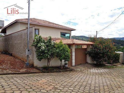 Casa 4 Dorm., Sul De Minas Gerais/lambarí - Permuta São Paulo - Ca0093
