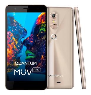 Smartphone Quantum Müv Pro 16gb, Dual Chip, Tela Hd, Vitrine