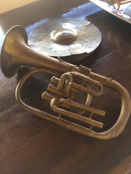 Instrumento Musical Para Decorar Sala De Música