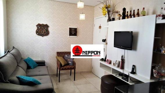 Apartamento Com 4 Dormitórios À Venda, 120 M² Por R$ 550.000,00 - Vila Augusta - Guarulhos/sp - Ap1548