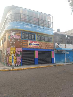 Local Comercial, Rento En Villa De Guadalupe Xalostoc