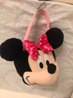 Minnie Balde Organizador De Juguetes Disney Store Peluche
