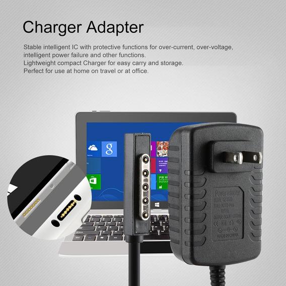 Adaptador Carregador Poder 12 V 2a Para Microsoft Surface 10