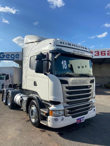 Scania R 440 18/18 6x4 Com Retarder E Bolsa De Ar