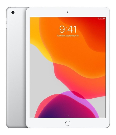 "iPad Apple 7ª Generación 2019 A2197 10.2"" 128GB silver com memória RAM 3GB"