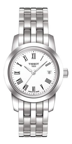 Reloj Tissot T0332101101300 Para Dama Ext De Acero