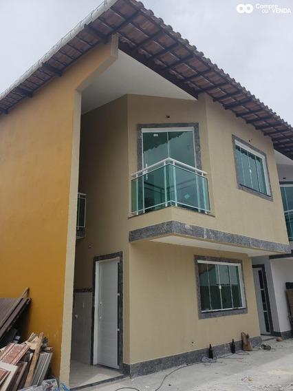 Linda Casa Duplex Com 2 Quartos E Fino Acabamento. - Mar87